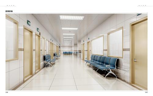 医院的装修风格决定了家具的选择