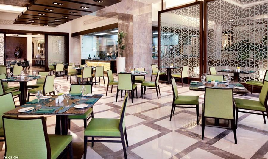 酒店饭店应该如何装修和摆放餐桌家具呢?